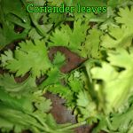 Simple weight loss drink using Coriander leaves